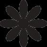 Цветок ромашка