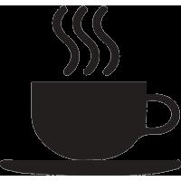 Чашка горячего кофе