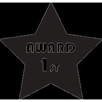Звезда награда за первое место