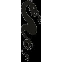 Татуировка Дракон 11