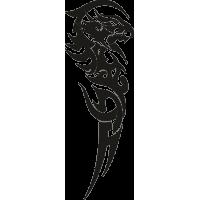 Татуировка Дракон 17