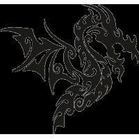 Татуировка Дракон 24
