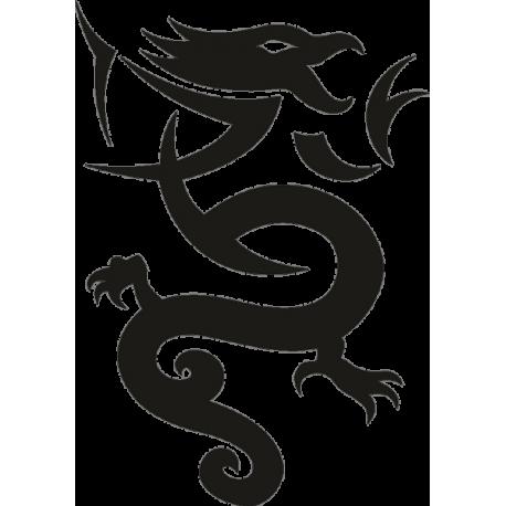 Татуировка Дракон 32