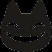 Улыбающаяся кошка