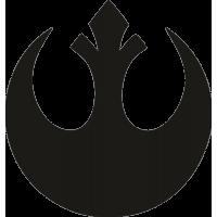 Символ мятежника из фильма Звездные Войны