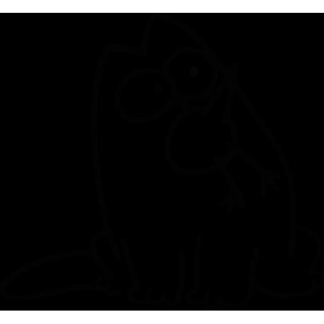 Кот Саймона и птица