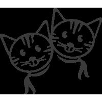 Котята близнецы