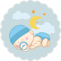 Спящий младенец мальчик