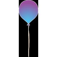 Воздушный шарик 17