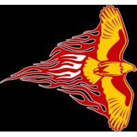 Татуировка летящий орел