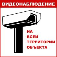 Видеонаблюдение на всей территории объекта