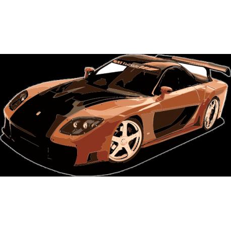 Спортивный автомобиль Мazda