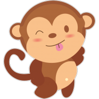 Подмигивающая обезьяна