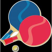Ракетки и мяч для настольного тенниса
