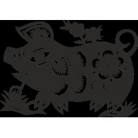 Знак китайского зодиака Свинья