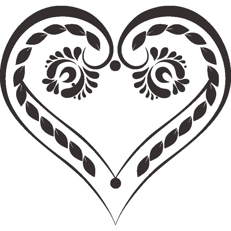 Картинки татуировок в форме сердца
