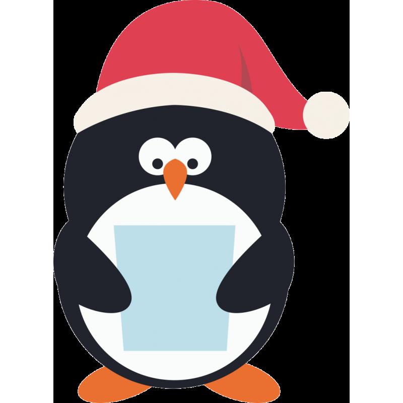 новогодние пингвины картинки сделать