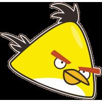 Желтая птица из Angry Birds – Злые Птицы