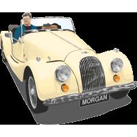 Ретро автомобиль Morgan - Морган