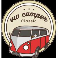 Красный Фольксваген Т1 VW Camper