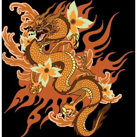 Дракон Японский Татуировка
