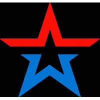 Звезда Армии России (Цветная, Без Надписи)