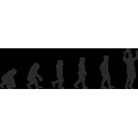 Эволюция от обезьяны до Футболиста 5