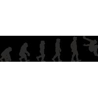 Эволюция от обезьяны до Скейтбордиста 5