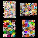 Стикерпаки - наборы наклеек