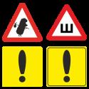 Знаки на автомобиль